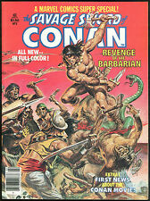 Savage Sword of Conan the Barbarian Marvel Super Special 2 Magazine Movie Norem