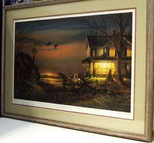 Special Memories by Terry Redlin DU 1989, 5600 s/n edition framed farm scene