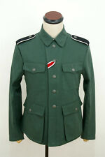 WWII German M42 elite summer HBT reed green field tunic S