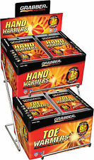 Grabber Hand and Toe Warmer Counter Top Display ADRACK