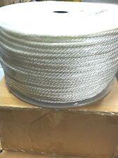 "#12 Size 3/8"" x 500' Solid Braid Nylon Rope"