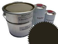 1,5 Set Litre 2K Peinture de sol Plancher RAL 6022 peinture vinyle époxy
