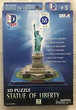 DARON 3D STATUE OF LIBERTY~39 PIECE PUZZLE~ NEVER OPENED~