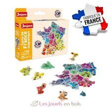 Carte de France magnétique jeujura Fabriqué en France