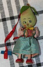 Vintage Italian Consuelo Pisello Fruit Doll C1940 Pear Lot J