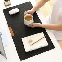 Anti-slip Office Computer Desk Mat Table Wool Felt Laptop Mouse Pad Keyboard Mat
