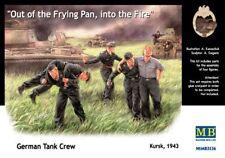 Quitter le char en flamme, sous le feu Koursk 1943 1/35 MasterBox