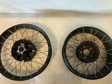 BMW R1200GS ADVENTURE LC SPOKED TUBELESS WHEELS  FRONT AND REAR PAIR