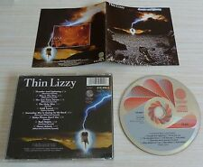 RARE CD ALBUM THUNDER AND LIGHTNING THIN LIZZY 9 TITRES 1983