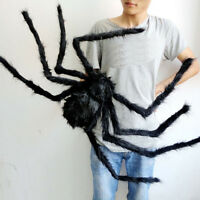 Halloween Decoration Haunted House Prop Indoor Outdoor Wide Black Spider