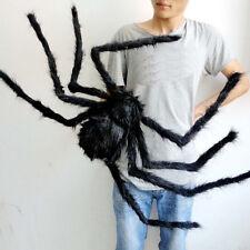 New Halloween Decoration Haunted House Prop Indoor Outdoor Wide Black Spider