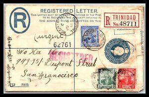 GP GOLDPATH: TRINIDAD & TOBAGO POSTAL STATIONARY 1913 _CV743_P13