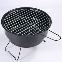 Portable Stainless Steel BBQ Grill Non-stick Surface Folding Barbecue Outdoor