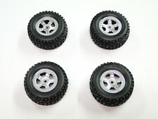 NEW TRAXXAS 1/16 SLASH Wheels & Tires Silver RD19V