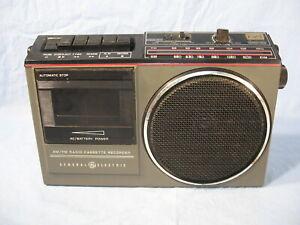 Vintage GE Radio Cassette Recorder Model 3-5233B PARTS REPAIR