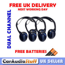 Rosen VPL2591 (AC3640) Dual Channel IR Headphones Fold Flat NEW 3 PAIRS