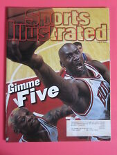 MICHAEL JORDAN Gimme Five Championship Sports Illustrated magazine June 9, 1997