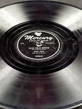Mercury 3046 Jack Fina I'LL CLOSE MY EYES / SAVE ME A DREAM 78 E-