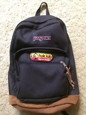 JanSport Original Leather bottom Backpacks Huk Lab Disc Golf Pack NWOT