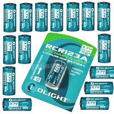 16 Pack Genuine Olight RCR123A (16340) Li-ion rechargeable batteries