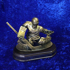 Ice Hockey Resin Goalie Trophy Man of the Match Spirit Game FREE engraving