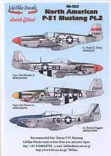 Lifelike Decals 1/48 NORTH AMERICAN P-51 MUSTANG Fighter Part 2