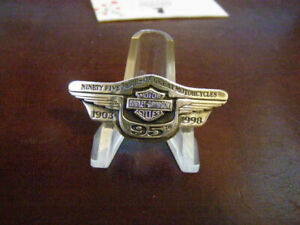 Vintage Anniversary Harley Davidson Pin 95th