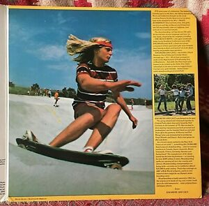 SNEAKERS AND LACE VINYL skateboardin' USA LP scarce PROMO COPY White Label 1976