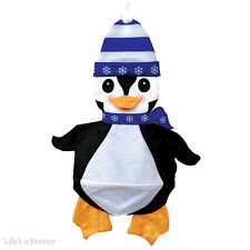 Penguin Christmas Windsock. For Telescopic Flag PolesCamping, and Caravan Use.