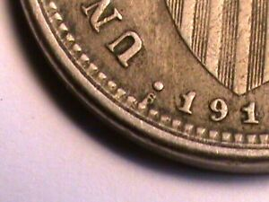 1918-S USA Philippines 5 Centavos Coin Five Centavos Copper-Nickel