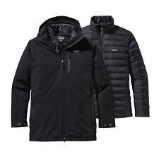 Patagonia Men's Tres 3-in-1 Parka Super Warm Winter Down Coat Jacket Black Large