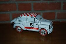 FIAT 850 ABARTH EN PORCELAINE DE 26 CM  MODEL UNIQUE