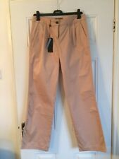 NEXT Cotton Trousers, Dusky Pink/beige, Size 8 Reg, New With Tags,rrp £30