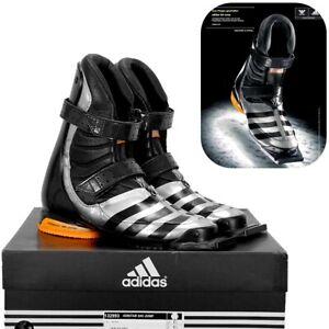 Adidas Adistar Ski Jump Skisprung Schuhe Stiefel Win.Air silber/schwarz Gr.35-47