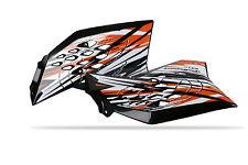 KTM Radiateur Scoops / Couvre KTM SX 65 2009 - 15 Noir IPD Polisport