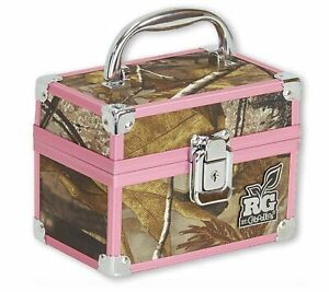 Plano Realtree Girl Caboodles Small Train Makeup Cosmetic Storage Case Camo