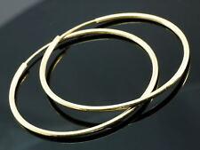 Creolen Gelbgold 333 er Gold 30 mm hochglänzend  1 Paar