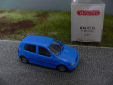 1/87 Wiking VW Polo signalblau 036 02