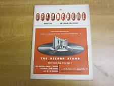 August 1956, THE GRAMOPHONE, Peter Heyworth. Igor B Maslowski, Edgar Jackson.