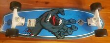 "Santa Cruz Skateboard Screaming Hand Black 7.5"" Complete"