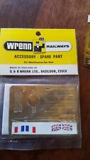 "WRENN 'OO' GAUGE W.7307  BRASS ETCHED PLATES FOR ""GOLDEN ARROW"""