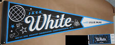 Jack White Stripes 2018 Cooperstown Alan Hynes S/N Poster Print Pennant Ticket B