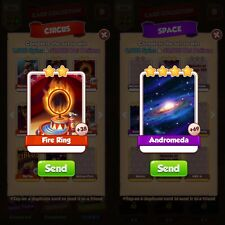 Coin Master Cards :- Fire Ring And Andromeda