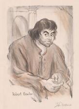 Don Freeman Lithograph [Robert Newton] Lot 314