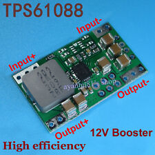 TPS61088 98% Lithium Battery Booster 3V-9V to 12V 4A Step up Power Supply Module