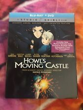 Howl's Moving Castle (Blu-ray/DVD, 2-Disc Set, 2017) Brand New with Slip Cover
