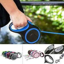Strong Retractable Dog Lead Extending Leash Tape Cord 3/5/8m Max 50kg 2020