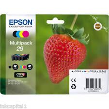 Cartuccia Epson Multipack 29 con 4 Cartucce Serie 29/fragola (t298140) (t2982