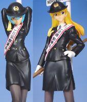 Evangelion EX Figure Tokyo Police Rei & Asuka Set of 2 SEGA Arcade Prize Japan