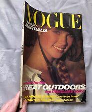 British VOGUE Magazine: July 1980 (vintage condition, some creasing)